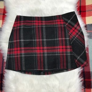 CATO Mini Skirt Plaid Tartan Christmas Skirt 16